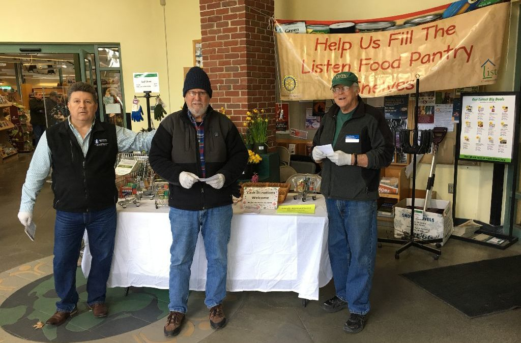 Food Drive For Listen