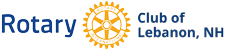 Rotary Club of Lebanon, NH logo