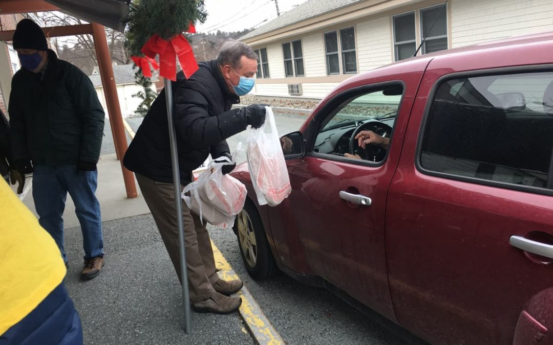 Upper Valley Senior Center Drive Up Meal Drive